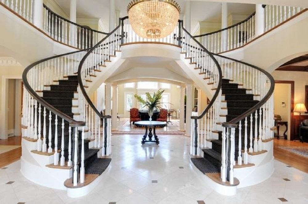 Y образная бетонная лестница Y образная монолитная лестница